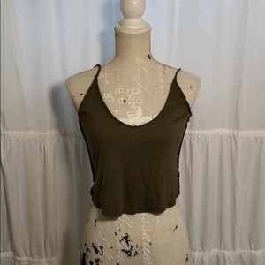 Project Social T Urban Outfitters crop top size S